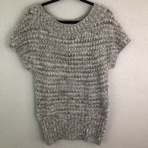 Loft Alpaca Knit Short Sleeve Sweater